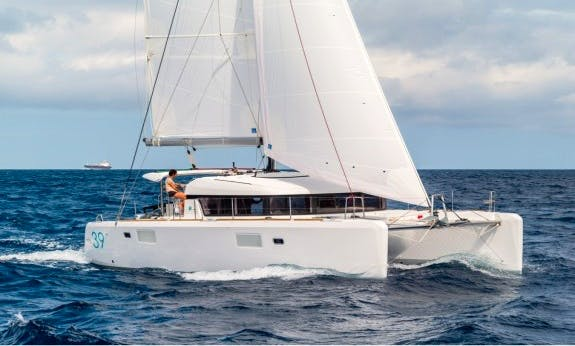 Amazing 2014 Lagoon 39 Sailing Catamaran Rental In C'ote d'Azur, France