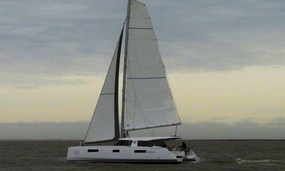 Wonderful 2016 Nautitech 40 Open Cruising Catamaran Rental In C'ote d'Azur, France