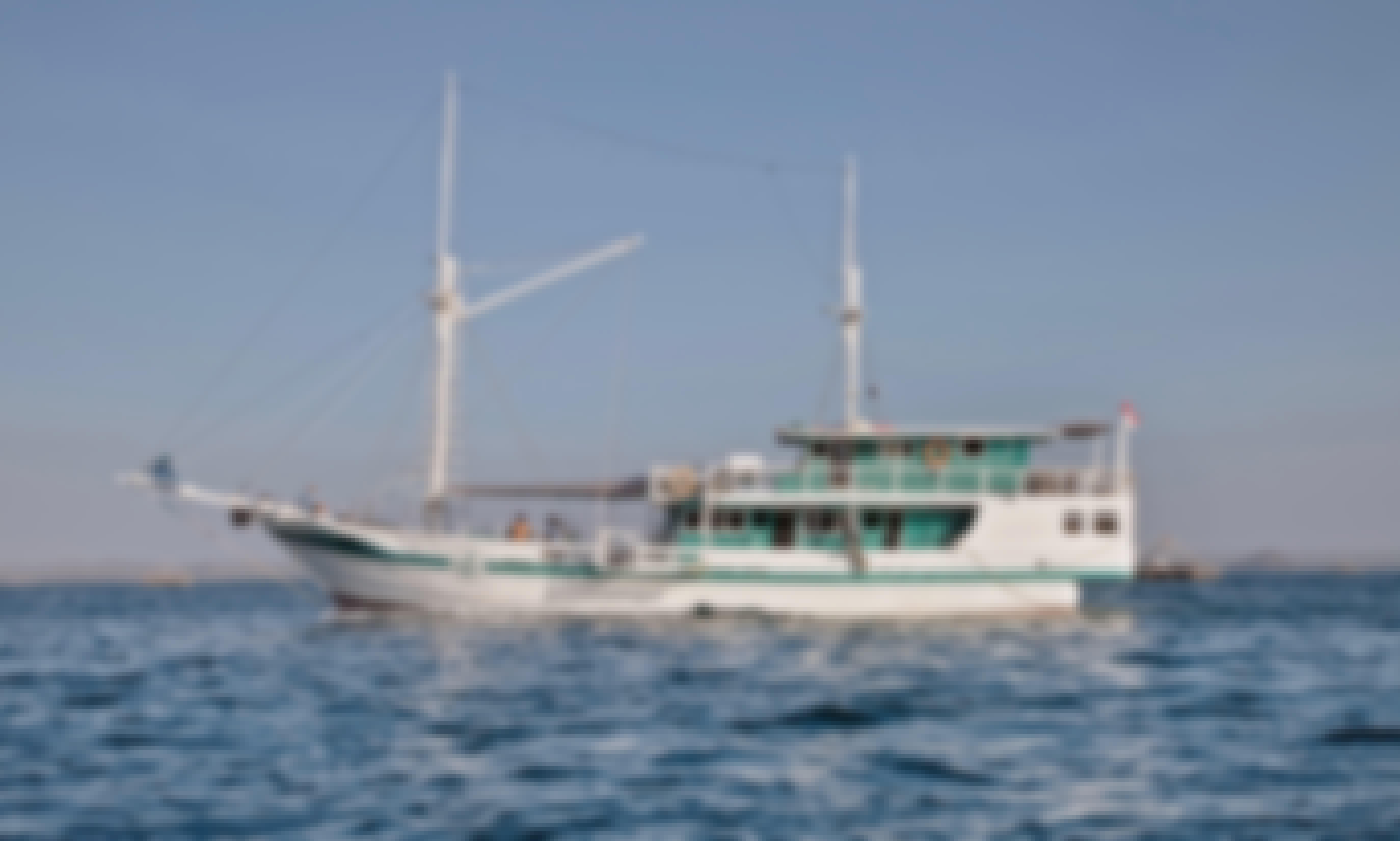"Flores Komodo Liveaboard Journey on 95' Phinisi Schooner ""Fortune"" for 6-11 Person"