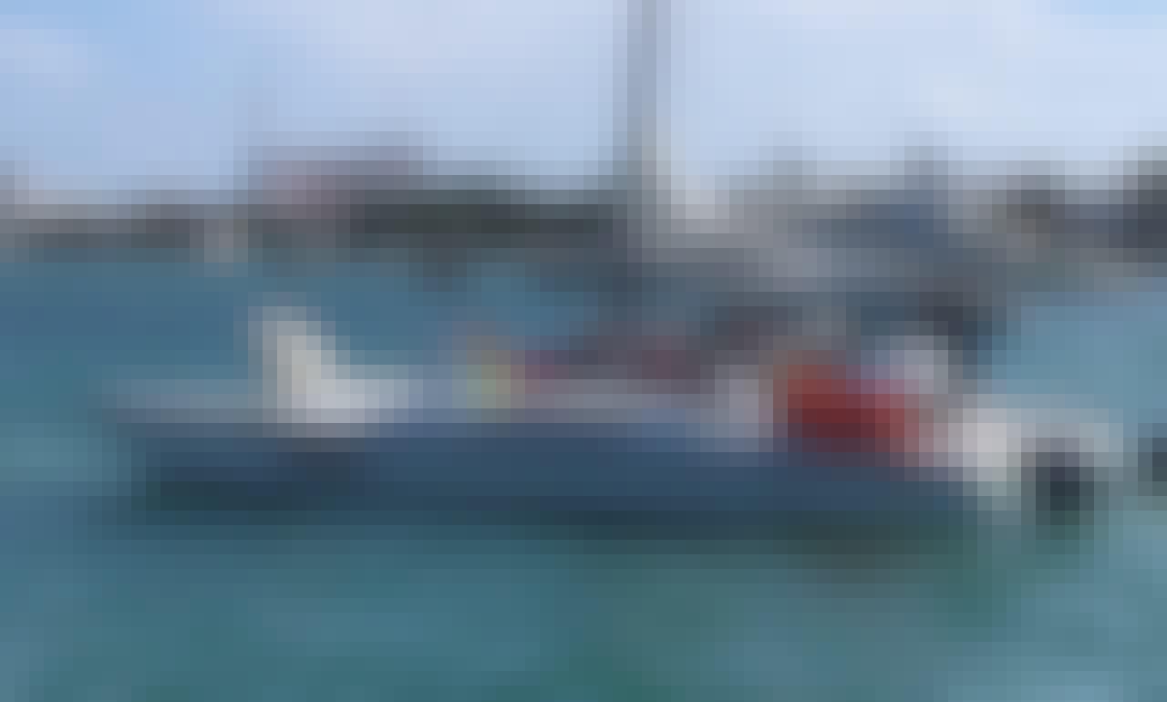 """Charter the 36 feet """"Anka"""" Mc Gregor Catamarán in Quintana Roo, Mexico"""