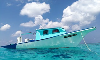 Exciting Fishing Adventure In Hanimaadhoo Maldives For 6 Person!