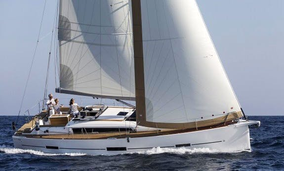 Amazing 2019 Dufour 460 Gl Cruising Monohull Rental In C'ote d'Azur, France