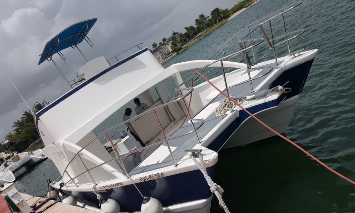 4 Hours Cruising Catamaran Rental In Punta Cana, Dominican Republic
