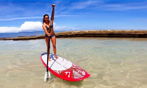 Stand Up Paddleboard Lesson, SUP Yoga and Board Rental in Muscat