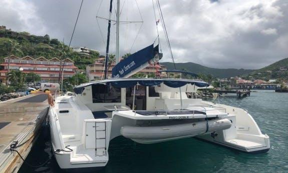 Charter The 2010 Salina 48 Evolution Sailing Catamaran In Le Marin, Martinique