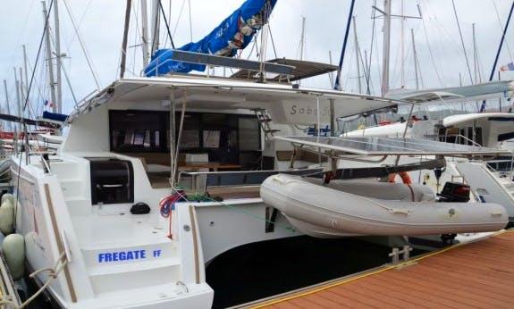 2015 Saba 50 Cruising Catamaran Rental In  Le Marin, Martinique