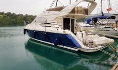 Power boat Fairline 42 FLY rent in Tivat Montenegro