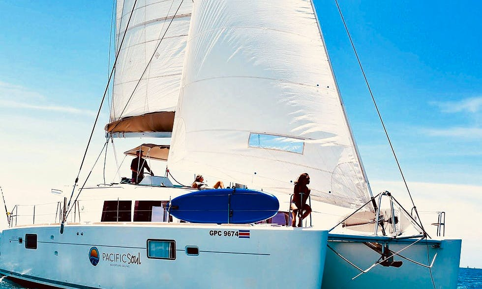 Luxury Catamaran - Private Charter from Playa Potrero/Flamingo