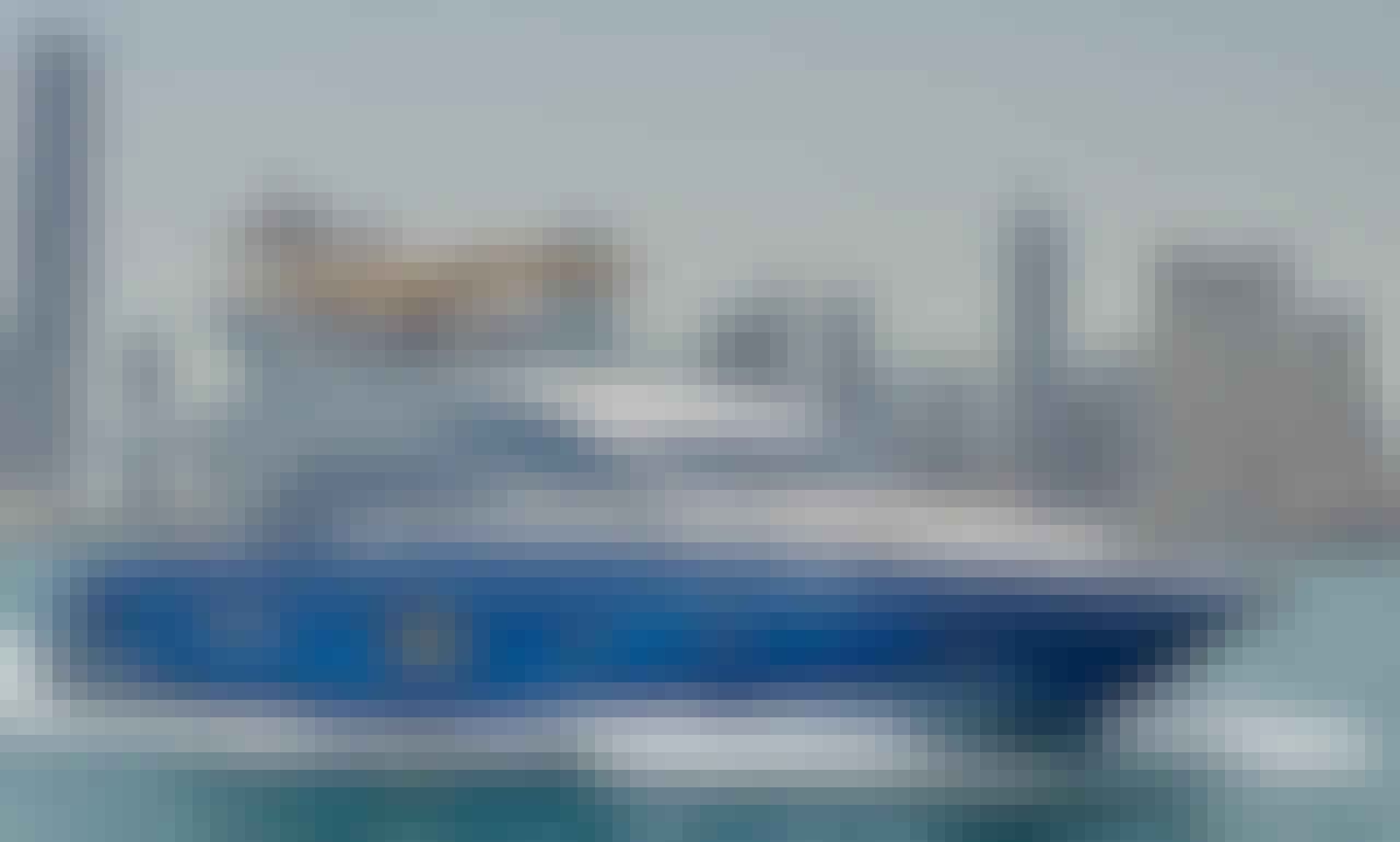 Majesty 63 Power Mega Yacht Charter in Dubai
