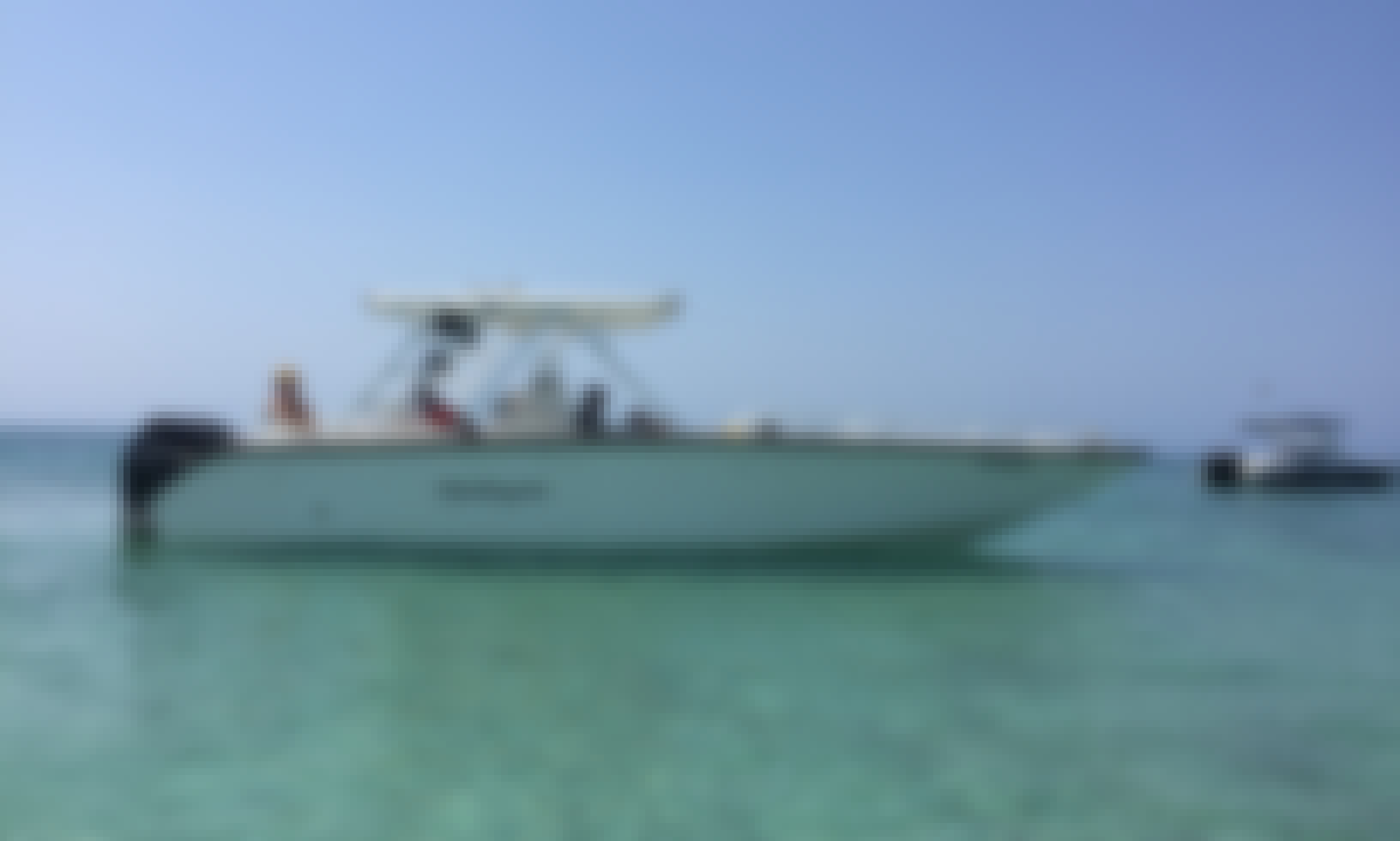 32' Todomar Center Console in Cartagena - Ideal for Waterski Snorkeling and Party