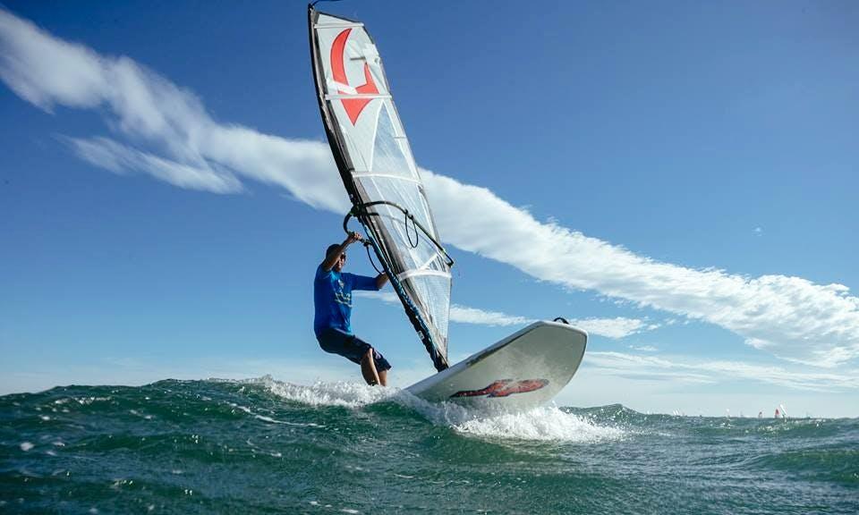 Windsurfing in Mui Ne, Vietnam!