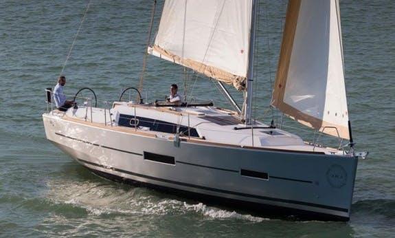 2015 Dufour 382 Gl Cruising Monohull Rental In Kos, Greece