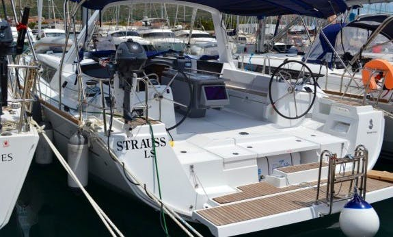 Oceanis 45 Cruising Monohull Bareboat Charter for 10 People in Trogir, Croatia