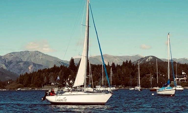 Sailing On Beautiful Sailing Yacht In Lake Nahuel Huapi