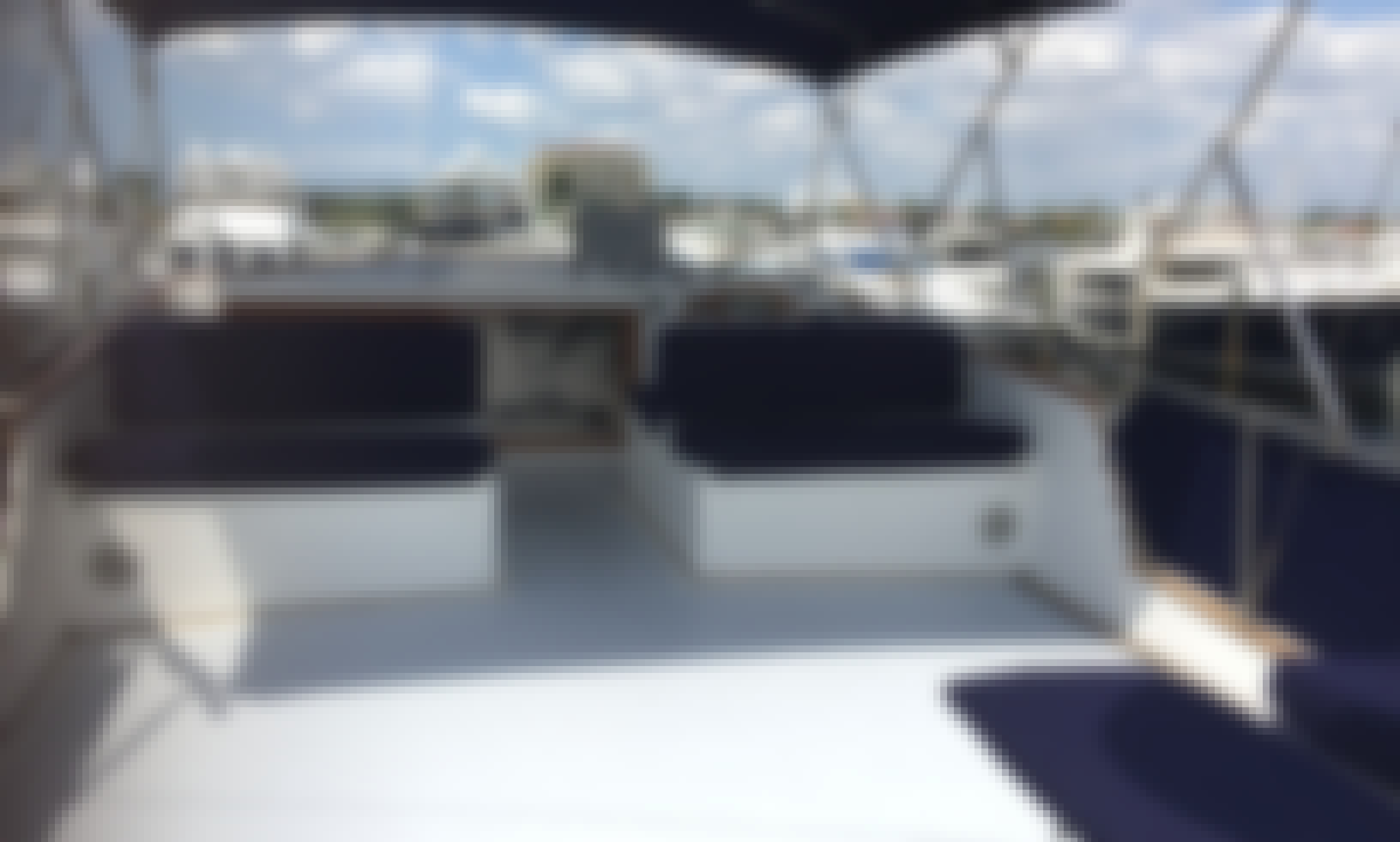 Bareboat Charter Grand Banks 49 Motor Yacht on the Chesapeake
