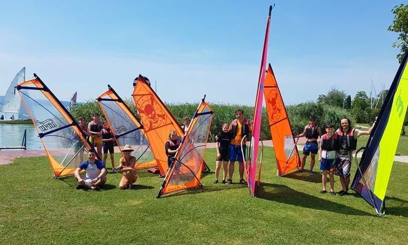5 Days Windsurfing Lesson In Tihany, Hungary