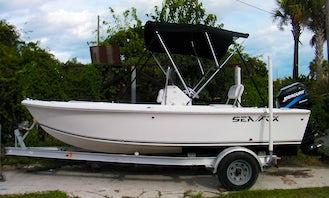 17' Sea Hunt Center Console Rental in Fernandina Beach, Florida