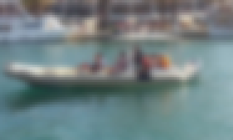 Charter the 31' RIB or 10 people with Skipper In Split, Croatia