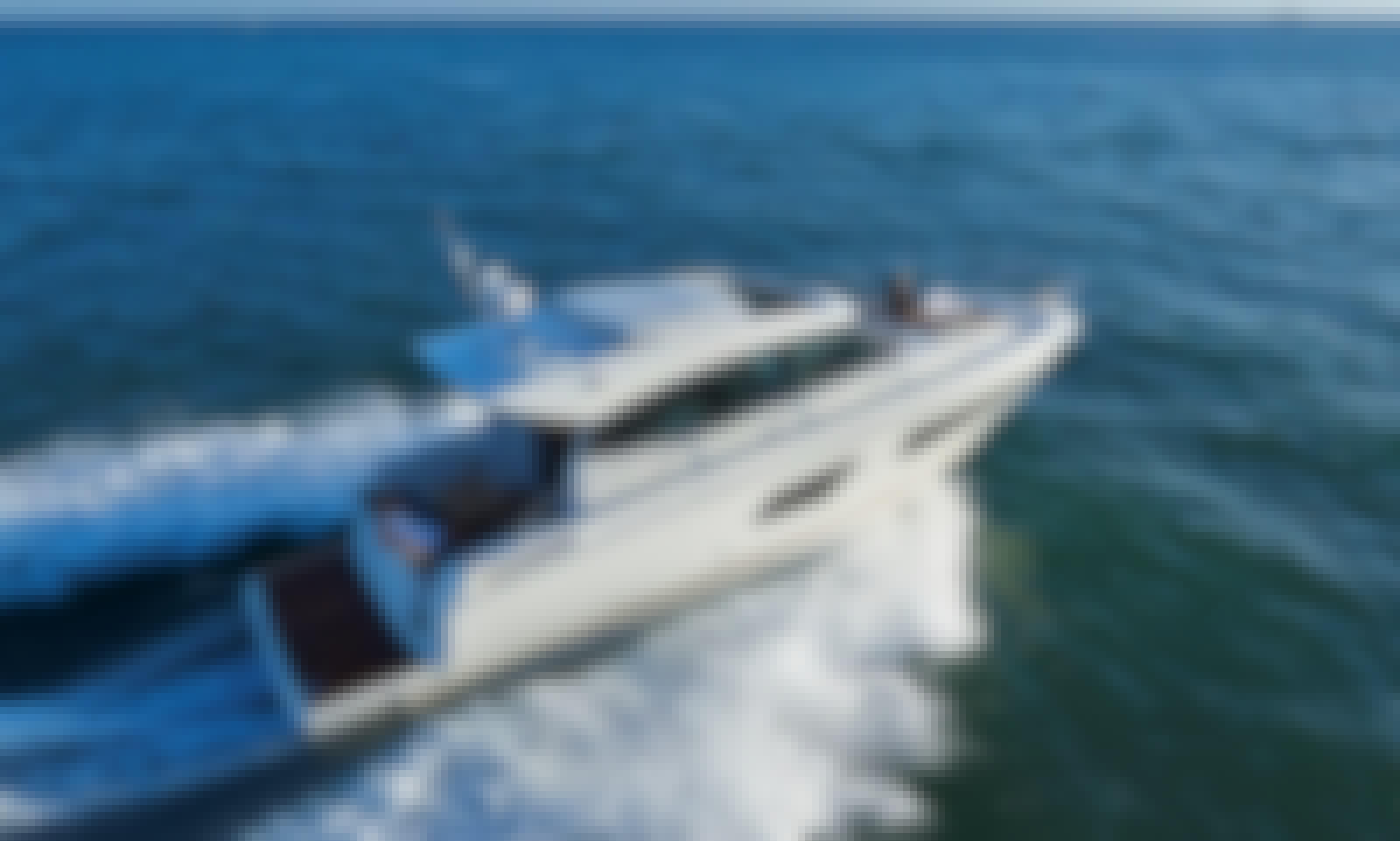 Prestige 420 S Motor Yacht Charter for 10 People in Ibiza, Spain