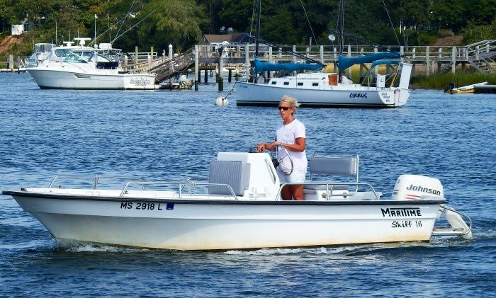 16' Center Console Rental in Cape Cod