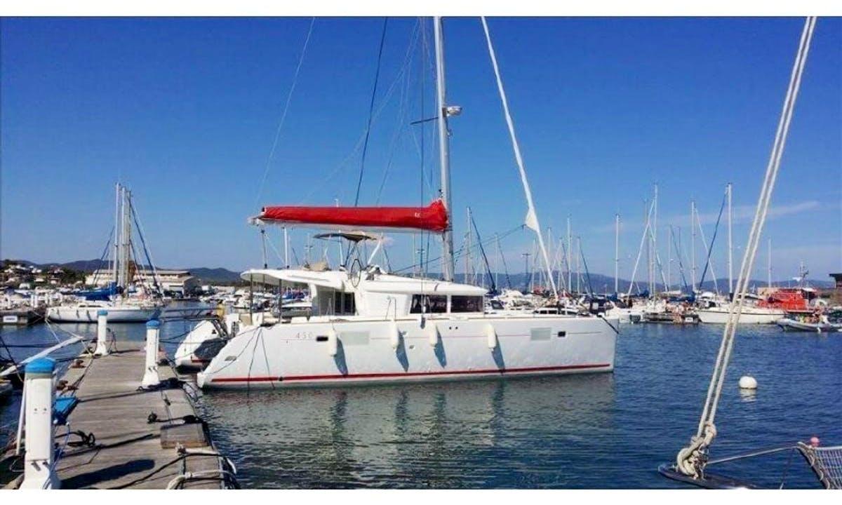 Cruising Catamaran LAGOON 450 rent in Tivat, Montenegro