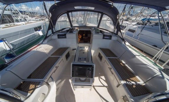 Charter a 10 People Sun Odyssey 439 Sailboat in Seget Donji