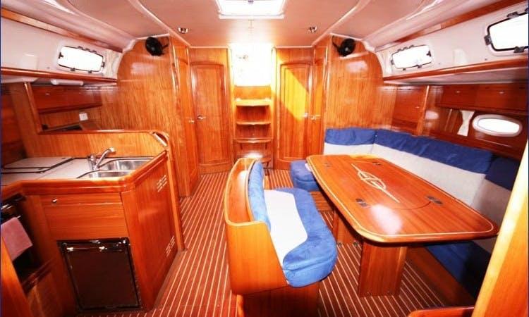 Corfu ,Greece  2008 50' ,$120 /cabin for 2