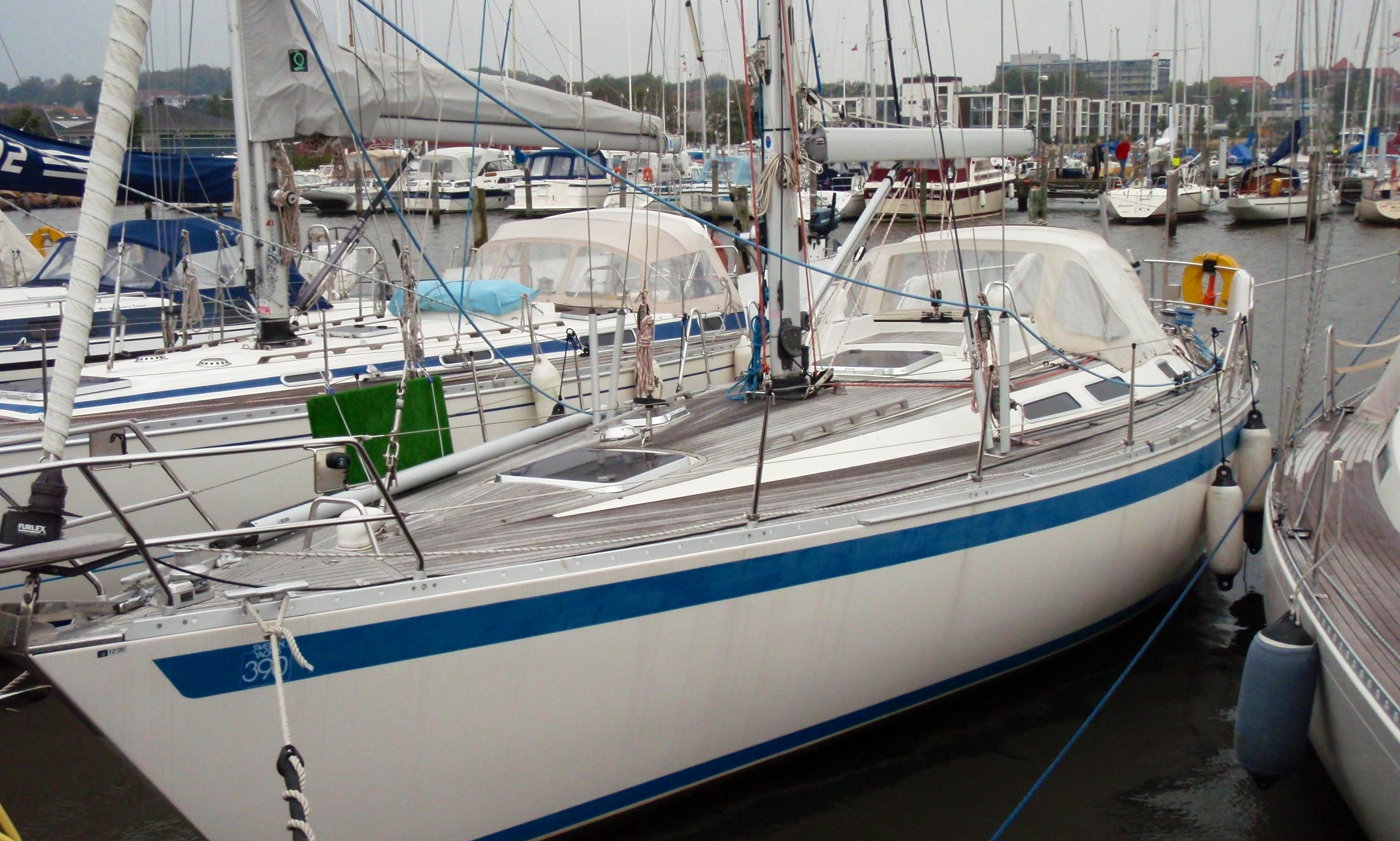 $120 per day -40' Swedish sailboat in CORFU 2 guests