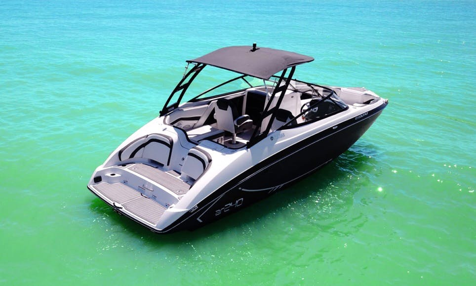 NEW Yamaha AR 240 2017 Jet Boat for Rent in Cape Coral, Florida