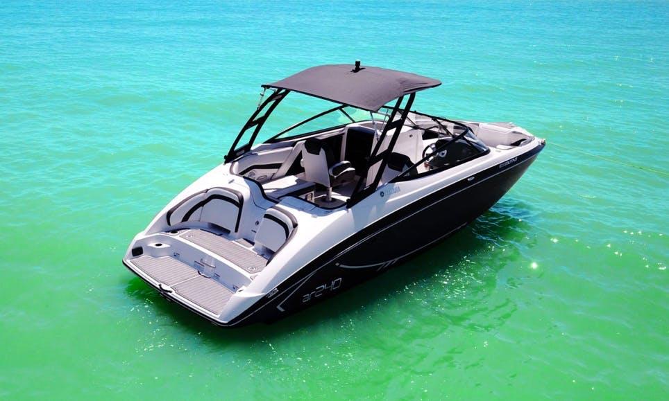 Yamaha AR 240 2017 Jet Boat NEW