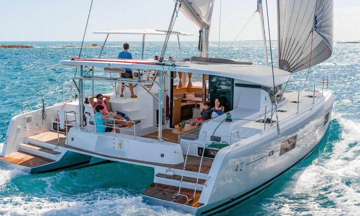 Brand new Catamaran Lagoon 42