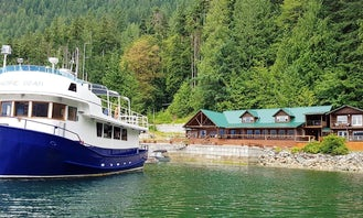 """Explore the West Coast and Desolation Sound on our """"Little Blue Boat""""!"""