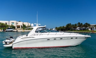 51' Sea Ray Yacht Charter for 12 people in Cancún, Quintana Roo