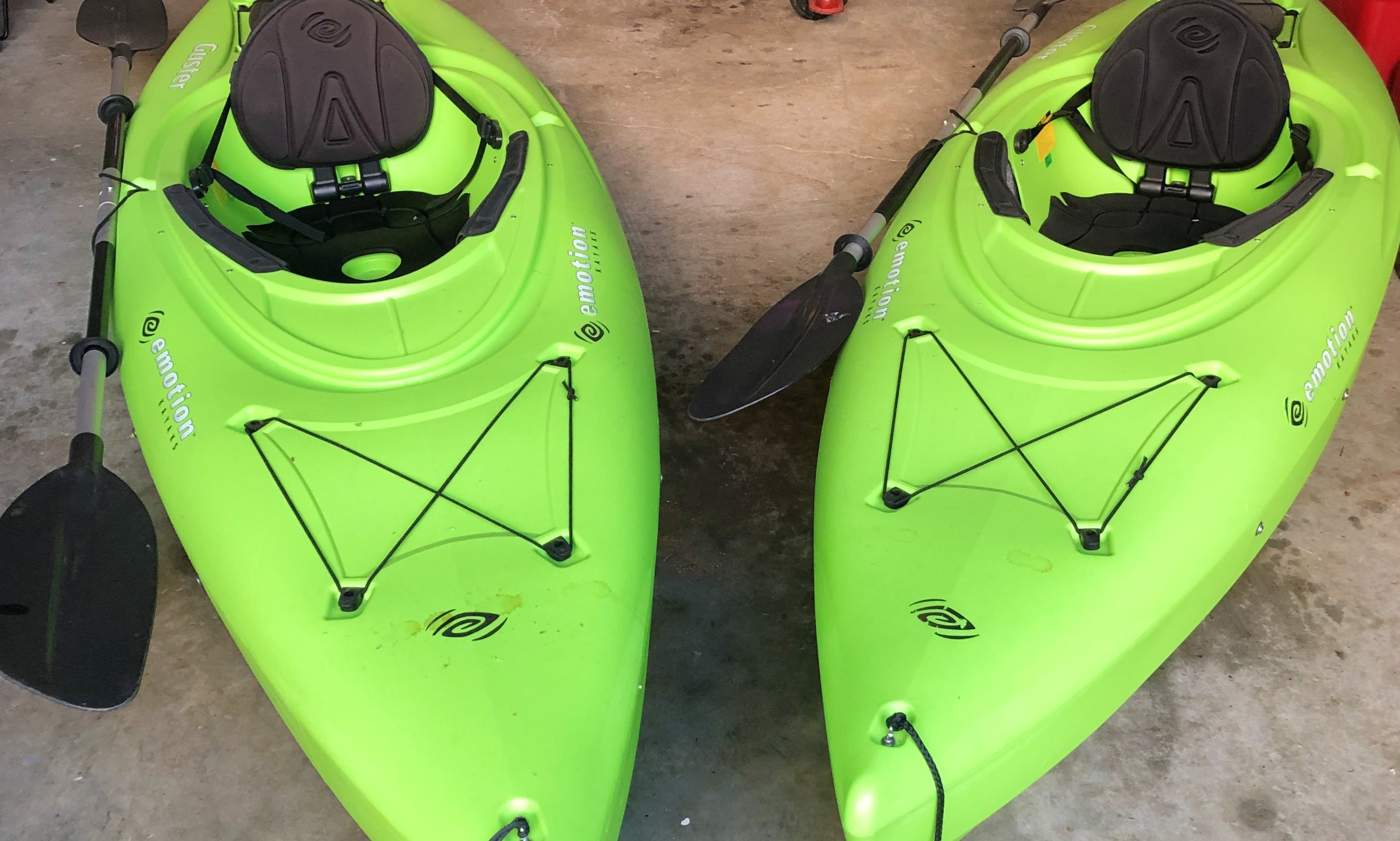 Two Kayaks minutes from Allatoona!
