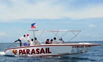 Island Hopping By Speedboat In Boracay Island!