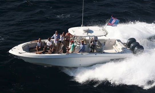 Book The 46' Center Console in Saint Thomas, US Virgin Islands
