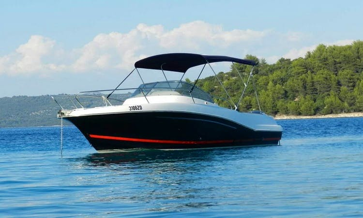 Janneau Cap Camarat 7.5. WA Center Console Rental in Zadar, Croatia
