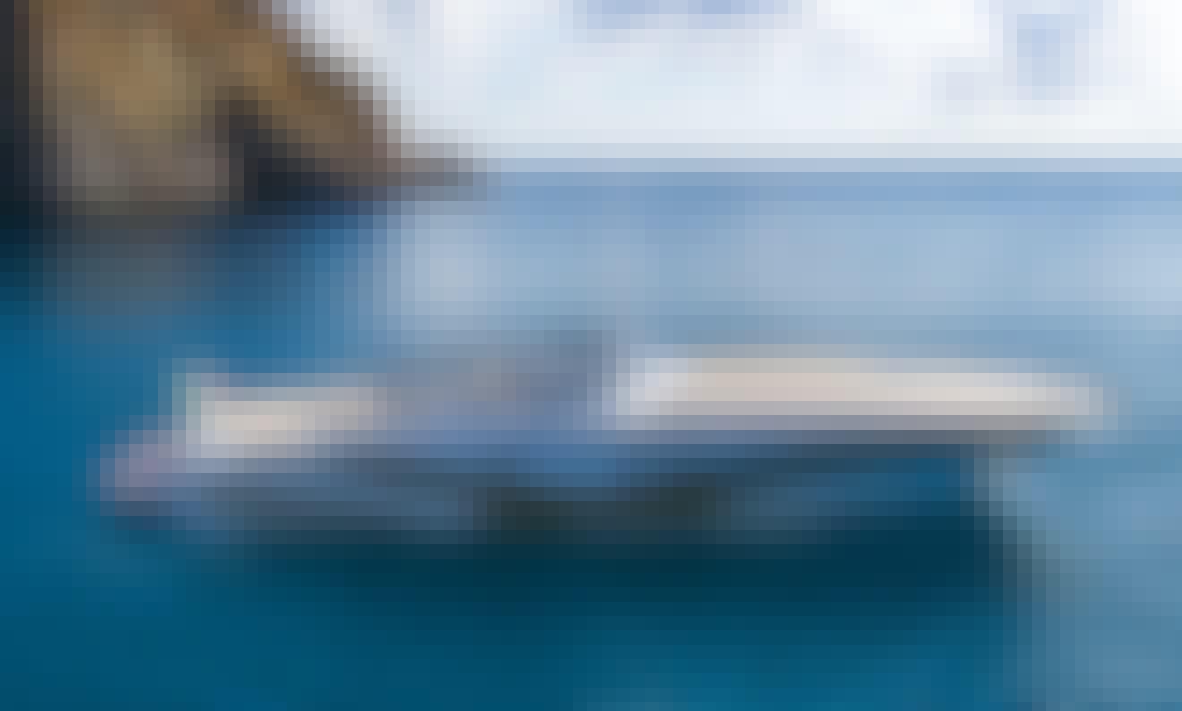 Charter Italian Classy Open Yacht Tornado 50s for 10 People in Castellammare di Stabia, Italy
