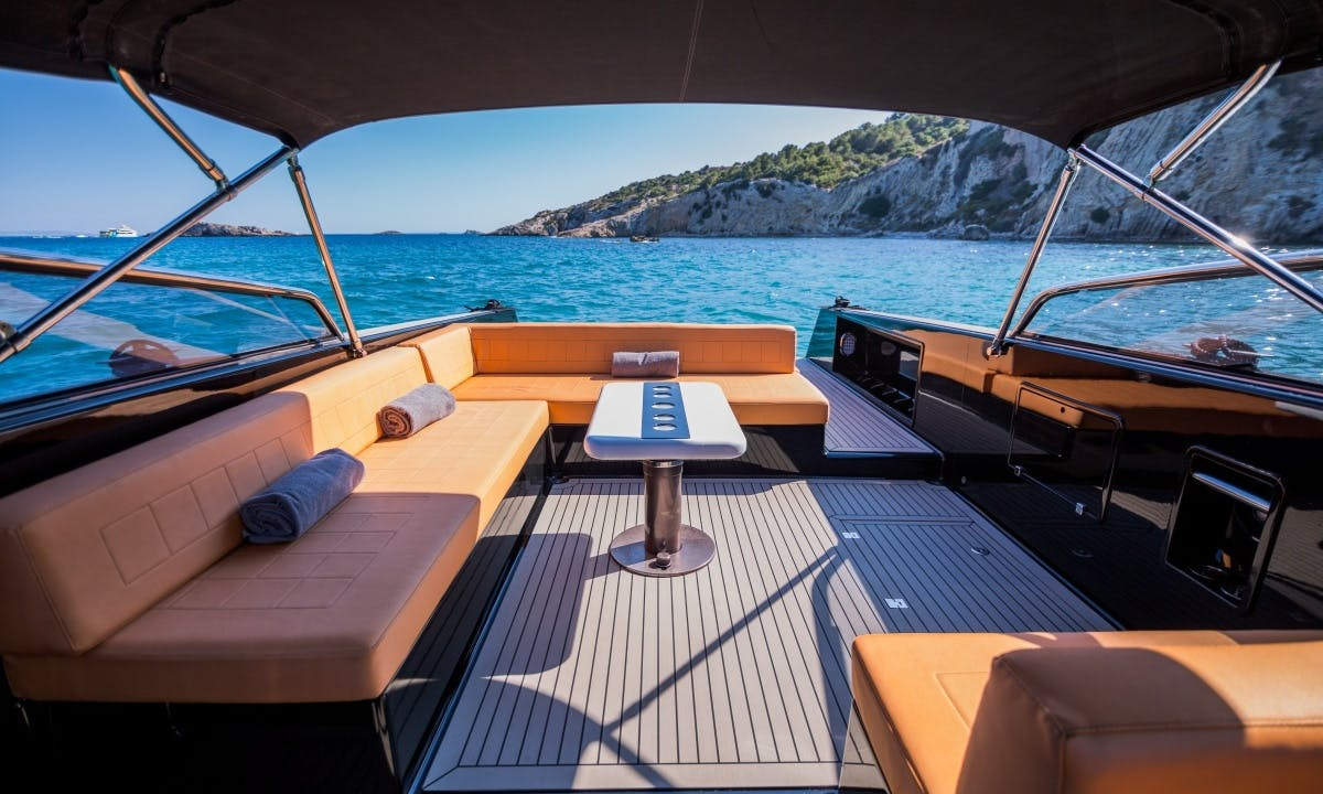 Charter this Van Dutch 40 Motor Yacht in Ibiza, Spain for 12 People