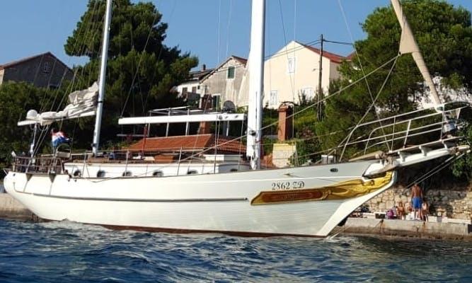Skippered Charter on Ta Chiao CT 42 Mermaid Ketch in Zadar, Croatia