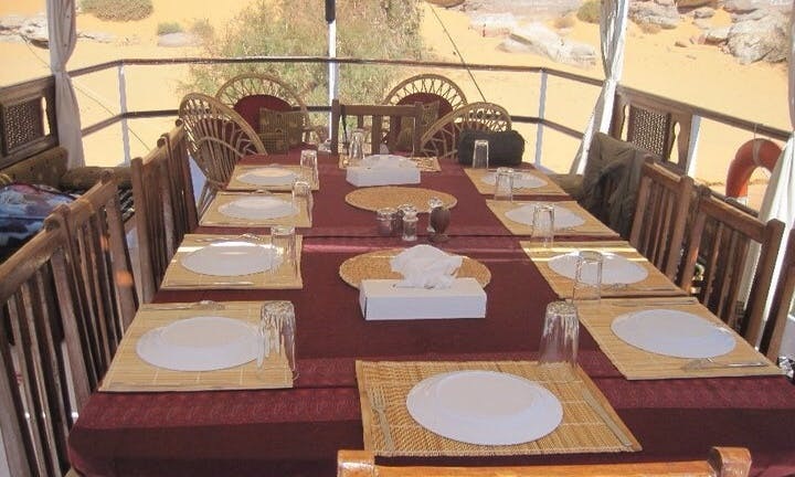 Boat Safari Cruises onboard 65' Dongola Boat in New Valley, Egypt