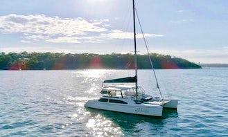 Skippered Catamaran Charter on KIRRALEE