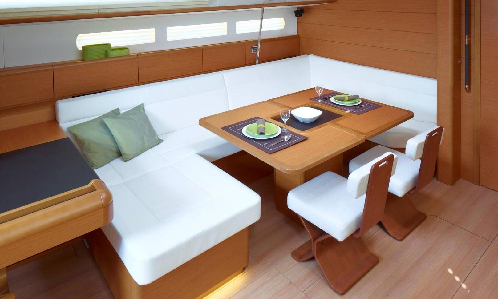 Sun Odyssey 509 Cruising Monohull Charter in Seget Donji, Trogir