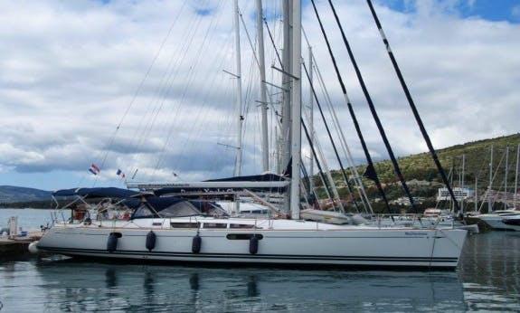 Sun Odyssey 49i Bareboat Charter for 10 People in Trogir, Croatia