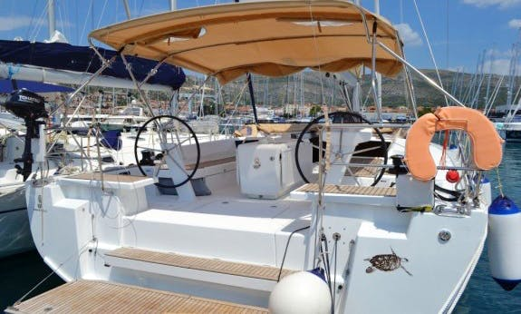 Oceanis 51.1 Sailing Yacht Charter in Seget Donji