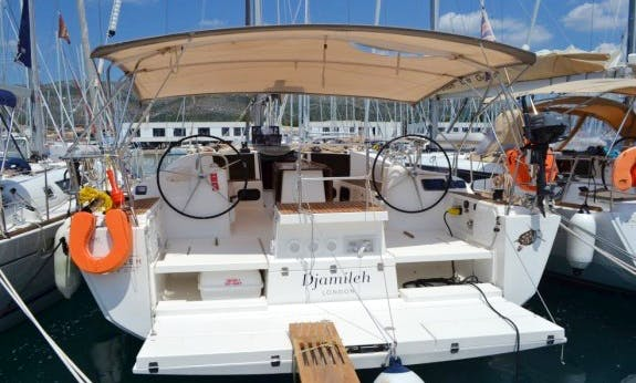 Dufour 500 Gl  with Air Conditioning Cruising Monohull Charter in Trogir, Croatia