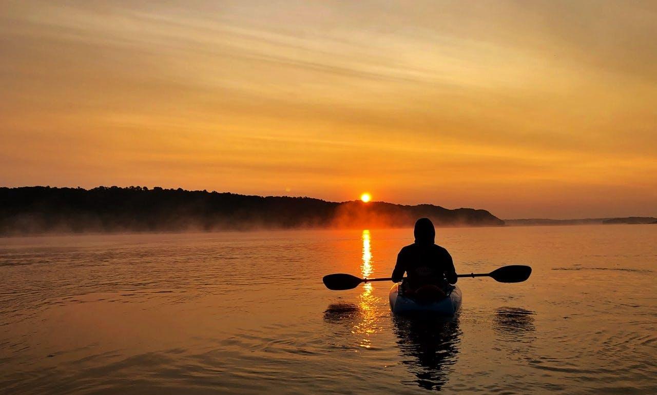 Kayak in Portage Des Sioux