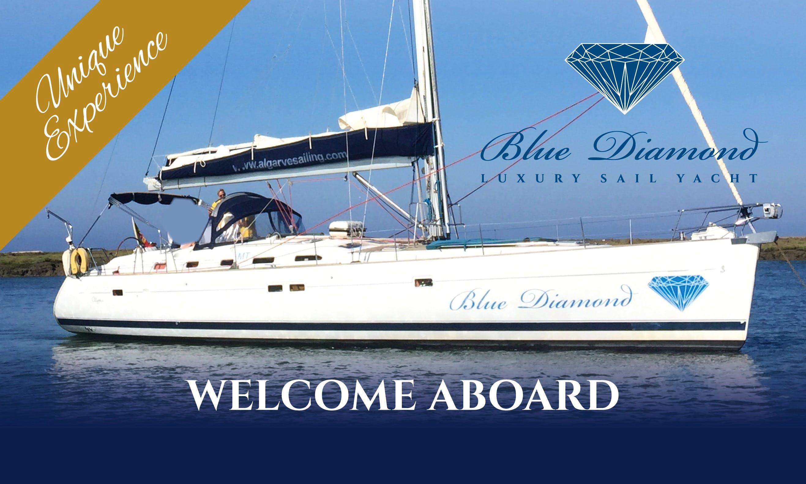 Blue Diamond, Beneteau 523 Oceanis Sail Yacht Charter in Albufeira, Algarve, Portugal