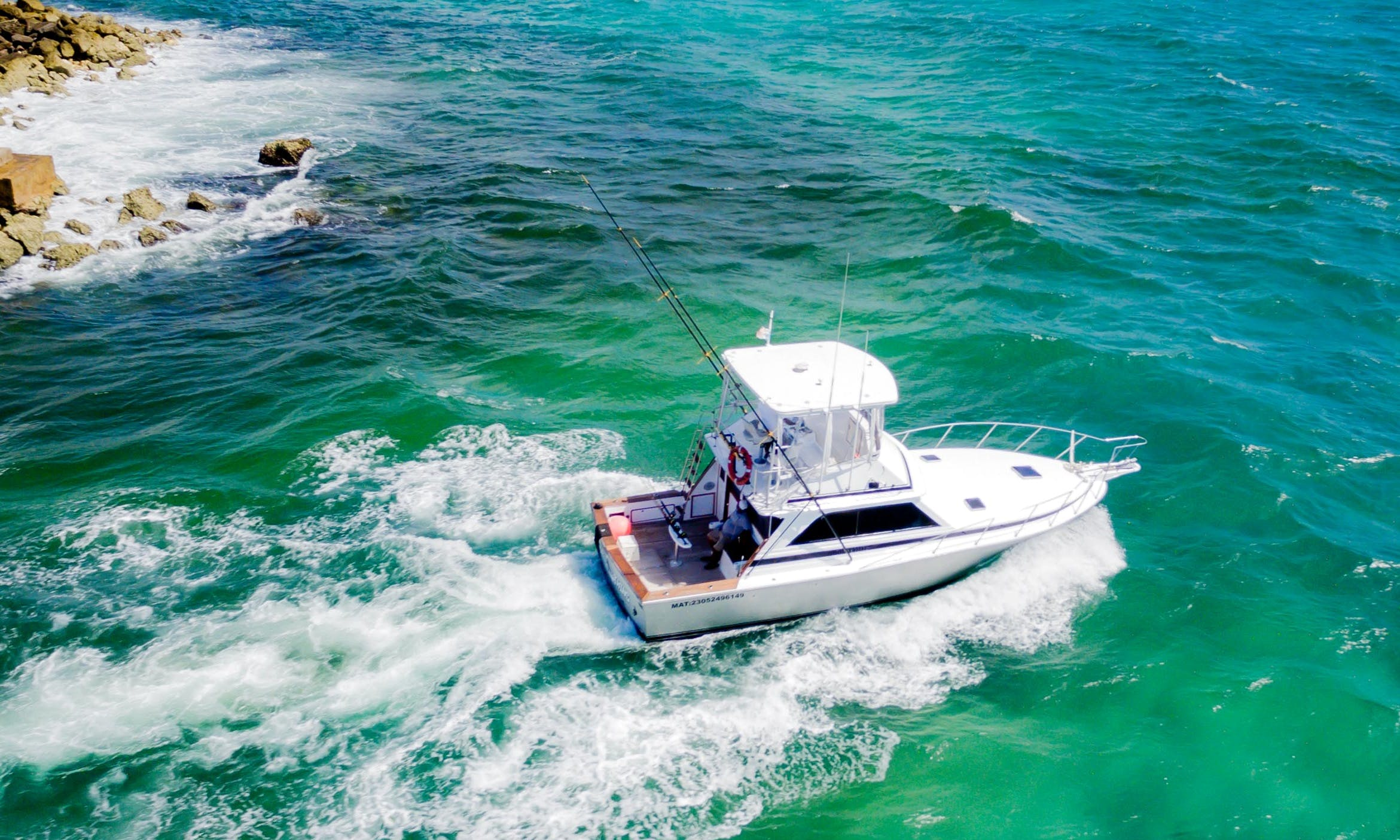 38' Dawson Sport Fisherman rental in Playa del Carmen
