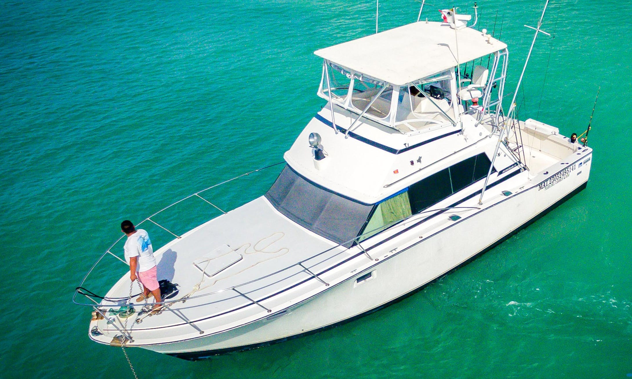 Sport Fisherman rental in Playa del Carmen